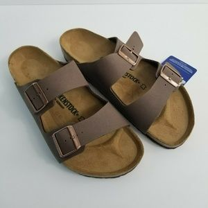 Birkenstock Arizona Brown Leather Buckle Sandal